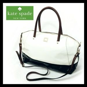 Kate Spade Large Crossbody Tote Polka Dot Interior
